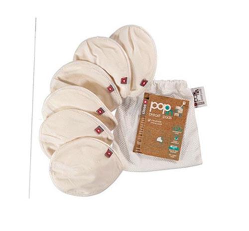 discos de lactancia de tela lavables de soja (2)