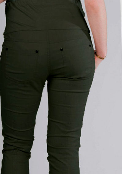 pantalon premama recto caqui