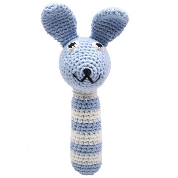 sonajero crochet bambú Logroño