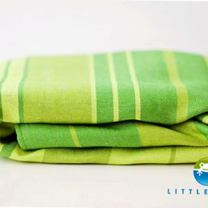 FULAR TEJIDO – LINO verde Beryl