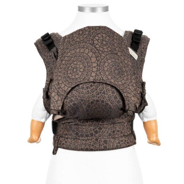 mochila-portabebes-fidella-fusion-nacimiento-mosaic-mocha-brown-logroño