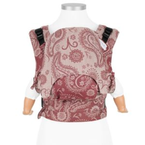 mochila-portabebes-fidella-fusion-persian-paisley-ruby-red-logroño