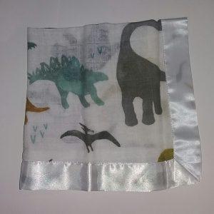 MUSELINA ALGODÓN – 40cm X 40cm- dinosaurios