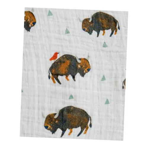 muselina algodón bisontes marrones (2)