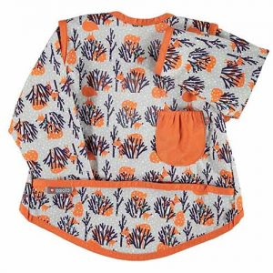 BABERO MANGAS – zorros naranja