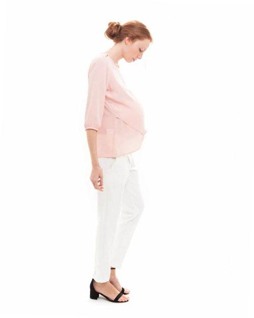 blusa premama elegante rosa (1)