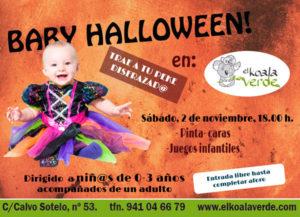Logroño, fiesta para bebes con disfraces en Halloween