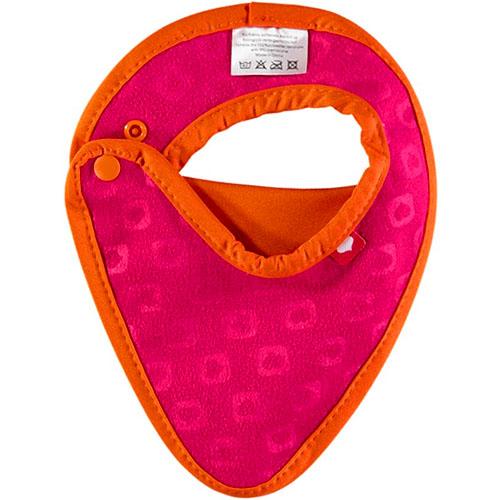 babero recién nacido caravana naranja (1)