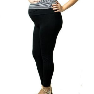 LEGGINGS PREMAMÁ negro