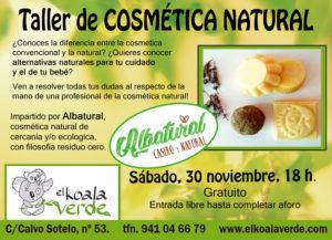 taller cosmetica natural logroño
