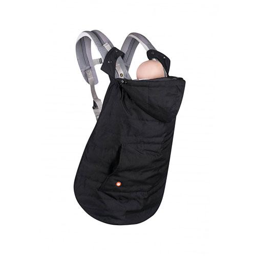 cobertor de porteo negro (4
