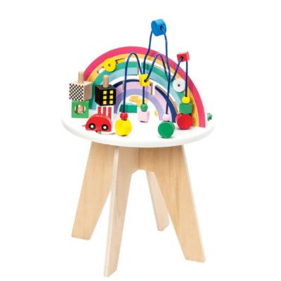 Mesa de actividades-juguete-despertar-marca Manibul