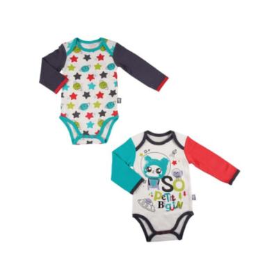 Body de bebé de 2 colores de Petit Beguin