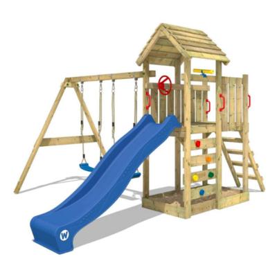 Parque infantil de madera de la marca Wickey