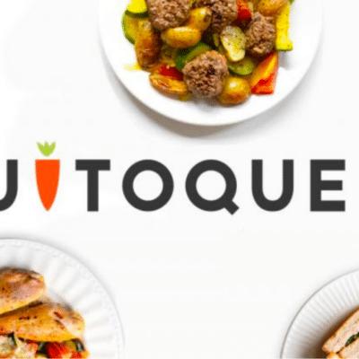 Logotipo de la canasta de almuerzo de Quitoque GO