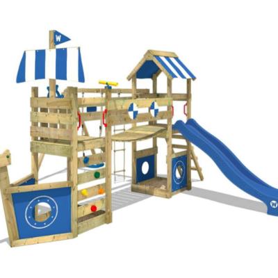 StormFlyer parque infantil barco de madera marca Wickey