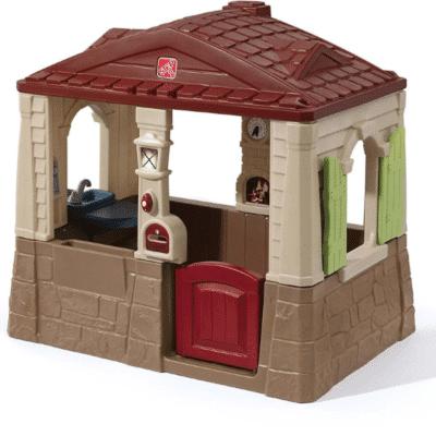 Casa de juegos de plástico Neat Tidy para niños