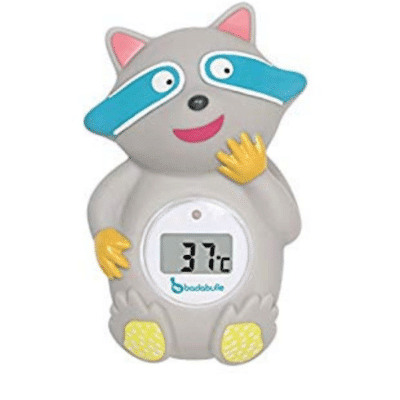 Termómetro de baño badabulle-mapache