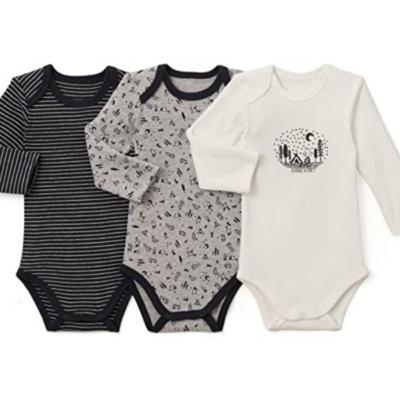 Body de bebé 3 colecciones negro gris y blanco de la marca La Redoute