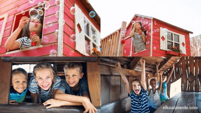 casa madera infantil jardin