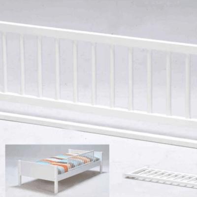 Barra de cama blanca marca Babyfox