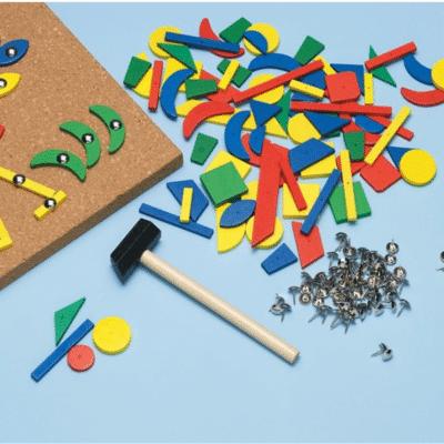 Juego de uñas Montessori