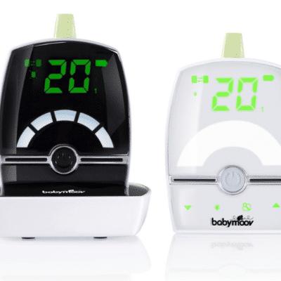 Babymoov vigilabebés con audio digital en blanco y negro de la marca Babymoov