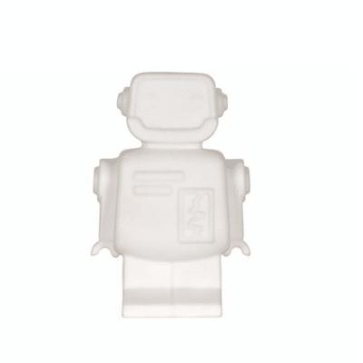 luz de noche marca de flujo de forma de robot