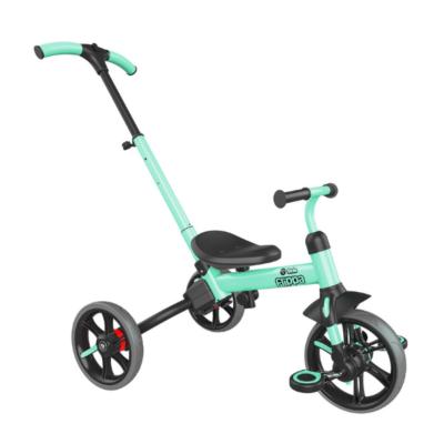 triciclo verde claro de la marca Oxybul