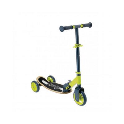 Patinete plegable de 3 ruedas en madera, marca Smoby para niños