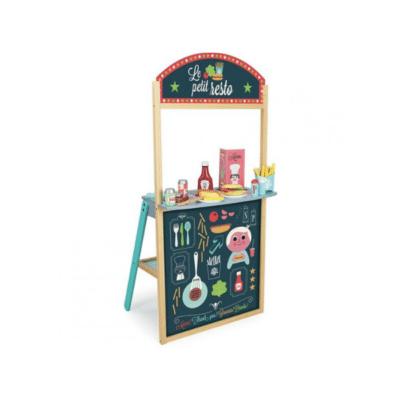 vendedor infantil con accesorios