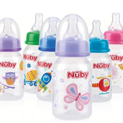 Botella de la marca Nuby