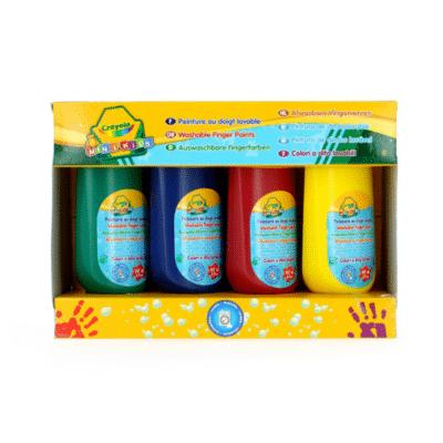 Gouache-Crayola de 4 botellas