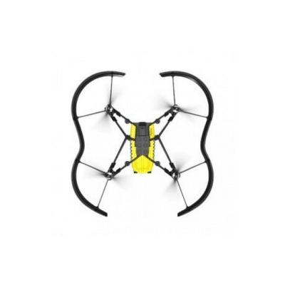 drone bebé negro amarillo marca Parrot
