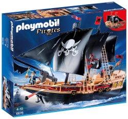 Playmobil pirates - barco pirata de la oscuridad