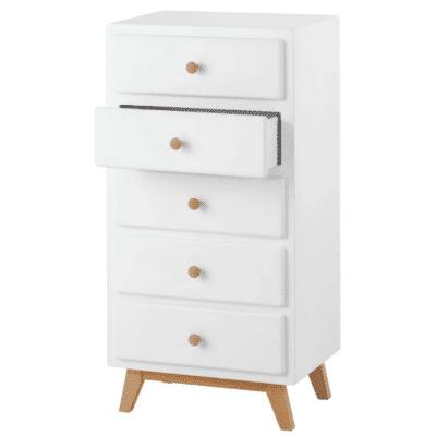 Chiffonnier-vintage-en-madera-blanca-marca-Maisons-Du-Monde