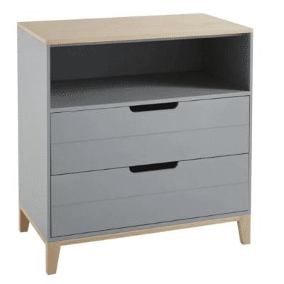 Cajonera-niño-Gaspard-2-cajones-gris-azul