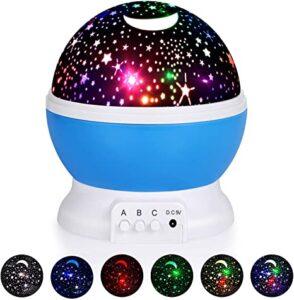 ★ ★ ★ TOP 10 luces nocturnas con proyección de estrellas
