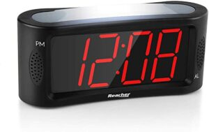 ★ ★ ★ TOP 12 Indicador de reloj despertador con luz nocturna