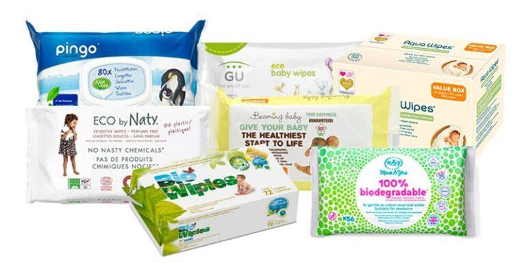 Las 12 mejores marcas de toallitas húmedas ecológicas para bebés
