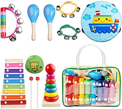 TOP 13 instrumentos musicales para niños
